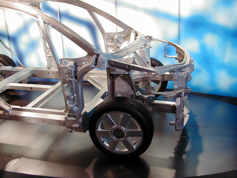 Aluminium Karosserie-Gerüst